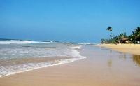 Hikkaduwa famous beach in galle