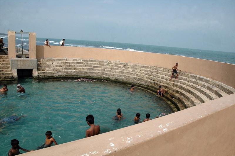 Keerimalai ( Naguleswaram ) pond keni