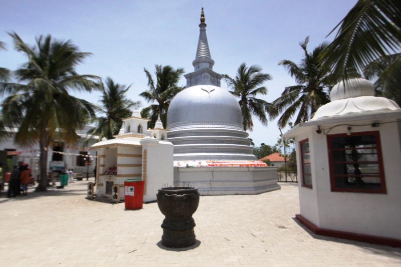 Nagadeepa Budhist Temple In Jaffna Nainathivu Allceylon Lk