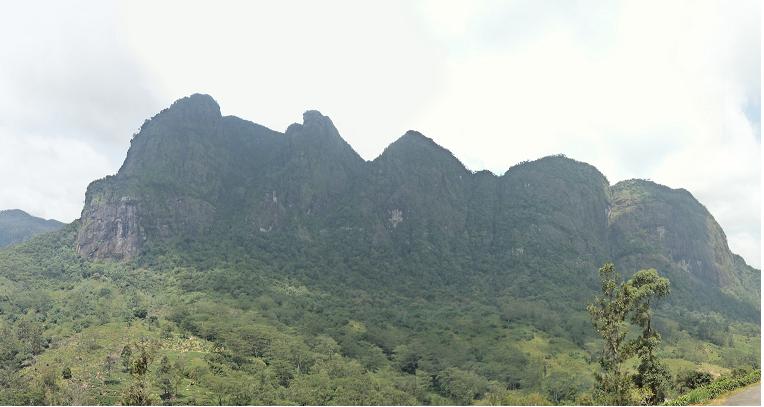 Seven Virgins Hills in Maskeliya