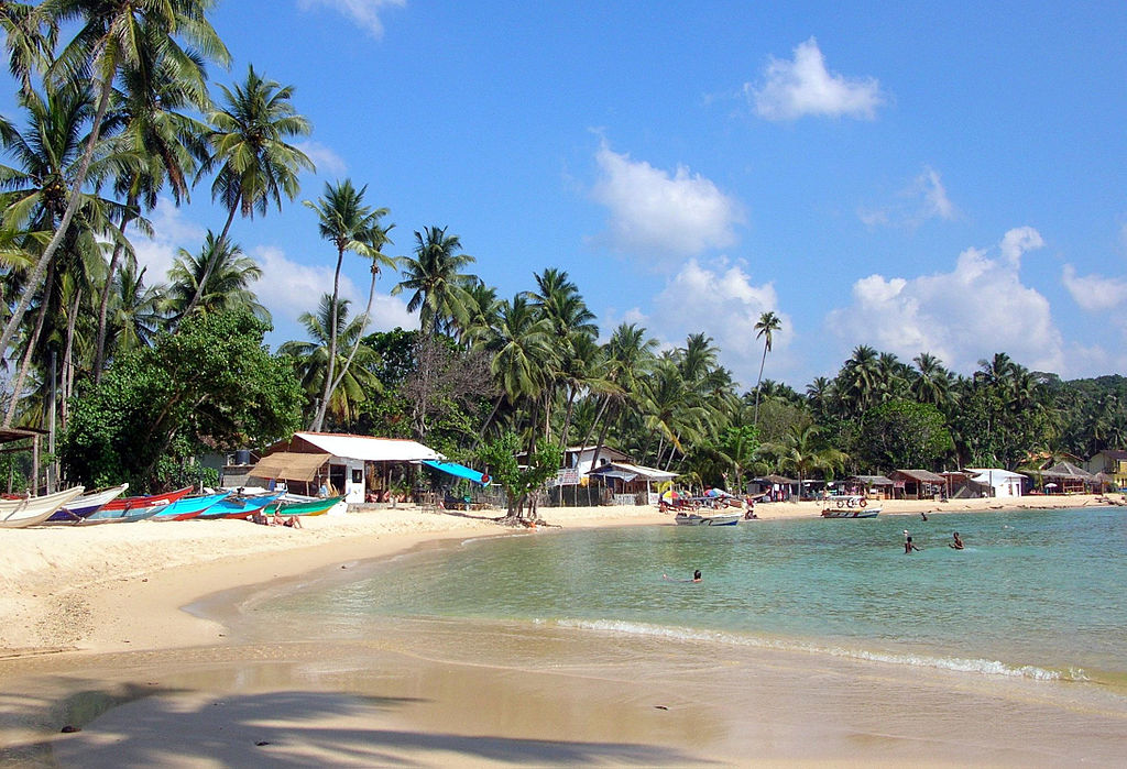 Unawatuna Bay Beach Galle
